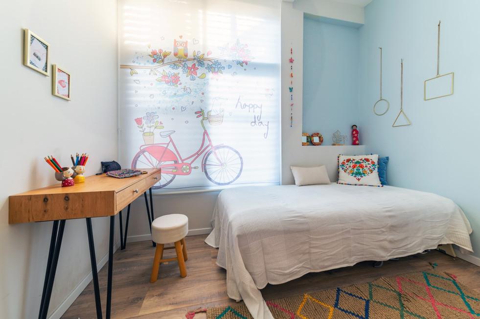 חדר נערה בעיצוב הדס פילובסקי-רון