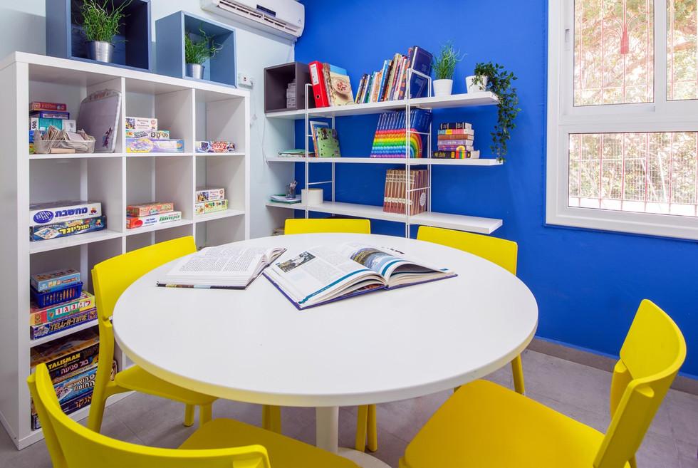 מועדונית לילדים בעיצוב הדס פילובסקי-רון