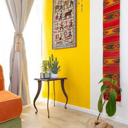 Boho appartment in Givatayim._💛🌹💛 #ho