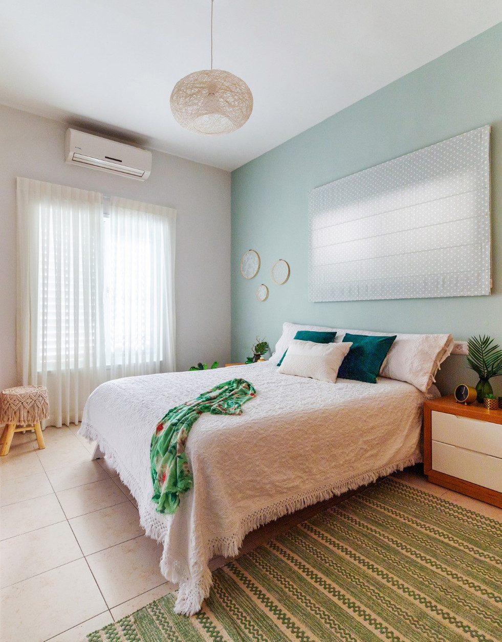 חדר שינה בעיצוב הדס פילובסקי-רון
