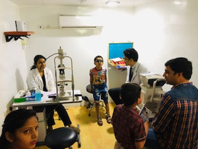 Eyes Check-up Camp at DAV School