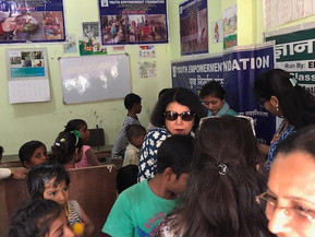 Interaction with Students of Youth Empowerment Foundation