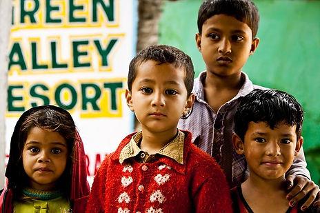 Kids at Green Valley Resort