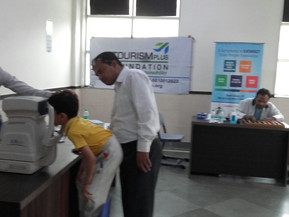 Eyes Check-up Camp at Delhi International School Edge.