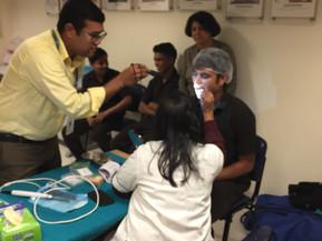 Dental Check Camp at Vivanta