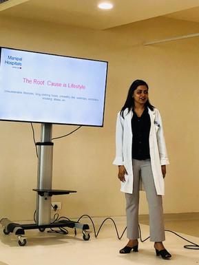 Health Talk - Lifestyle & Healthy Diet