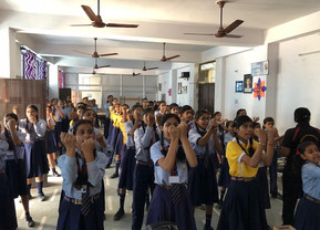 Self-Defence Training for Girl Students: Navyug Convent School