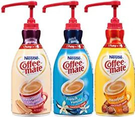 Nestlé® Coffee-Mate Liquid Creamer, 50.72-Oz Pump Bottle