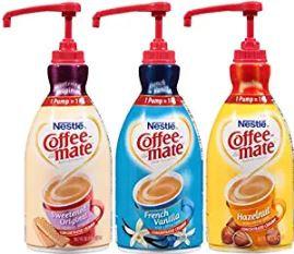 Nestlé® Coffee-Mate Liquid Creamer, 50.72-Oz Pump Bottle