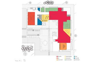 Ground Floor Program Diagram