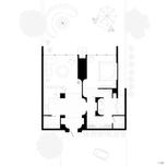 One-Bedroom Hut Plan