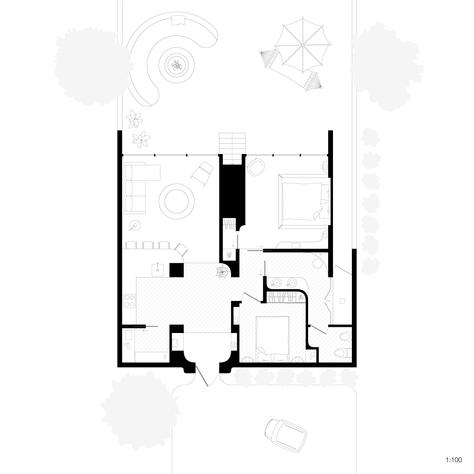 Two-Bedroom Hut Plan