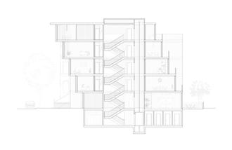 Section Through Core