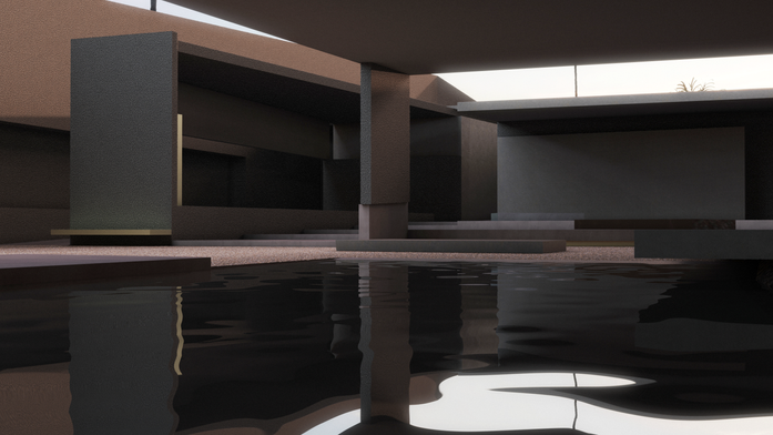 Main Pool Facing Jacuzzi Area