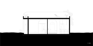 One-Bedroom Hut Section