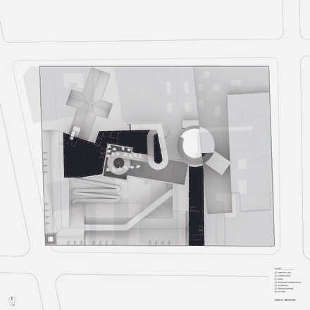 Reflected Ground Floor Plan