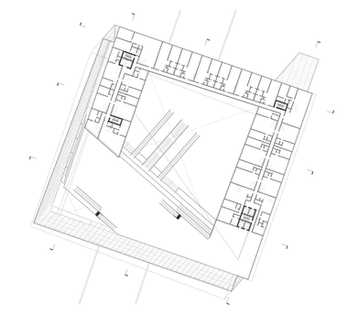 Residential and Retail Floor Plan