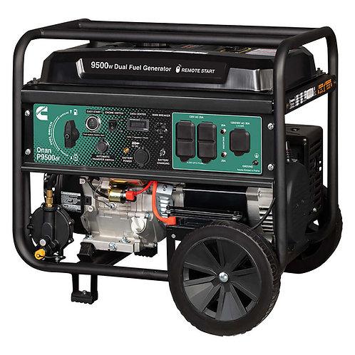 Cummins Onan P9500df Dual Fuel (Gas/LPG) Portable Generator