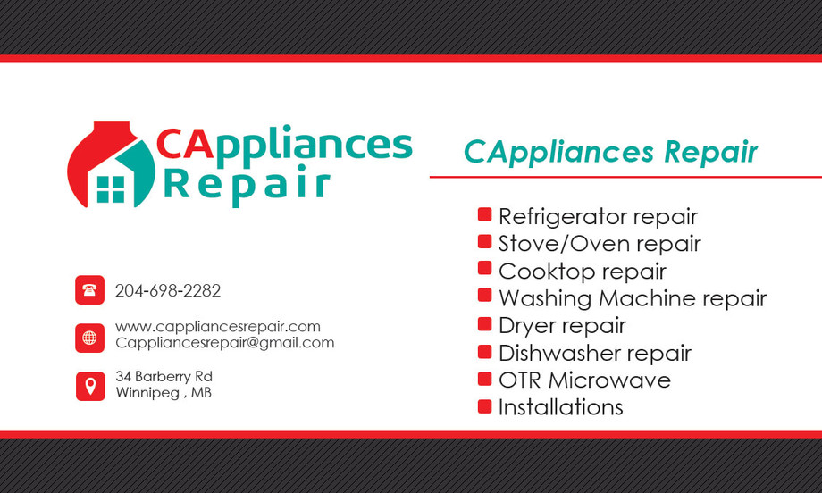 Winnipeg Appliance Repair