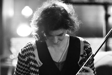 Angharad Davies - photo by Daryl Feehely