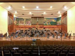 Orchestral recording