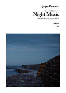 Dommett Jasper_Night Music Front Cover.j