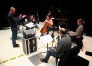 UPROAR rehearsal