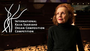 COMPETITION: International Kaija Saariaho Organ Composition Competition (DL: 29.10.21)