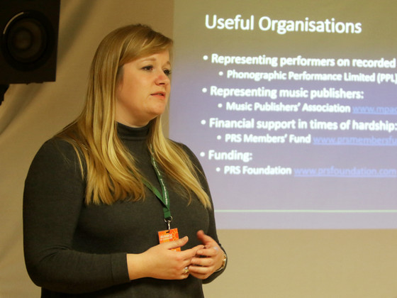 Harriet Wybor (PRS for Music)