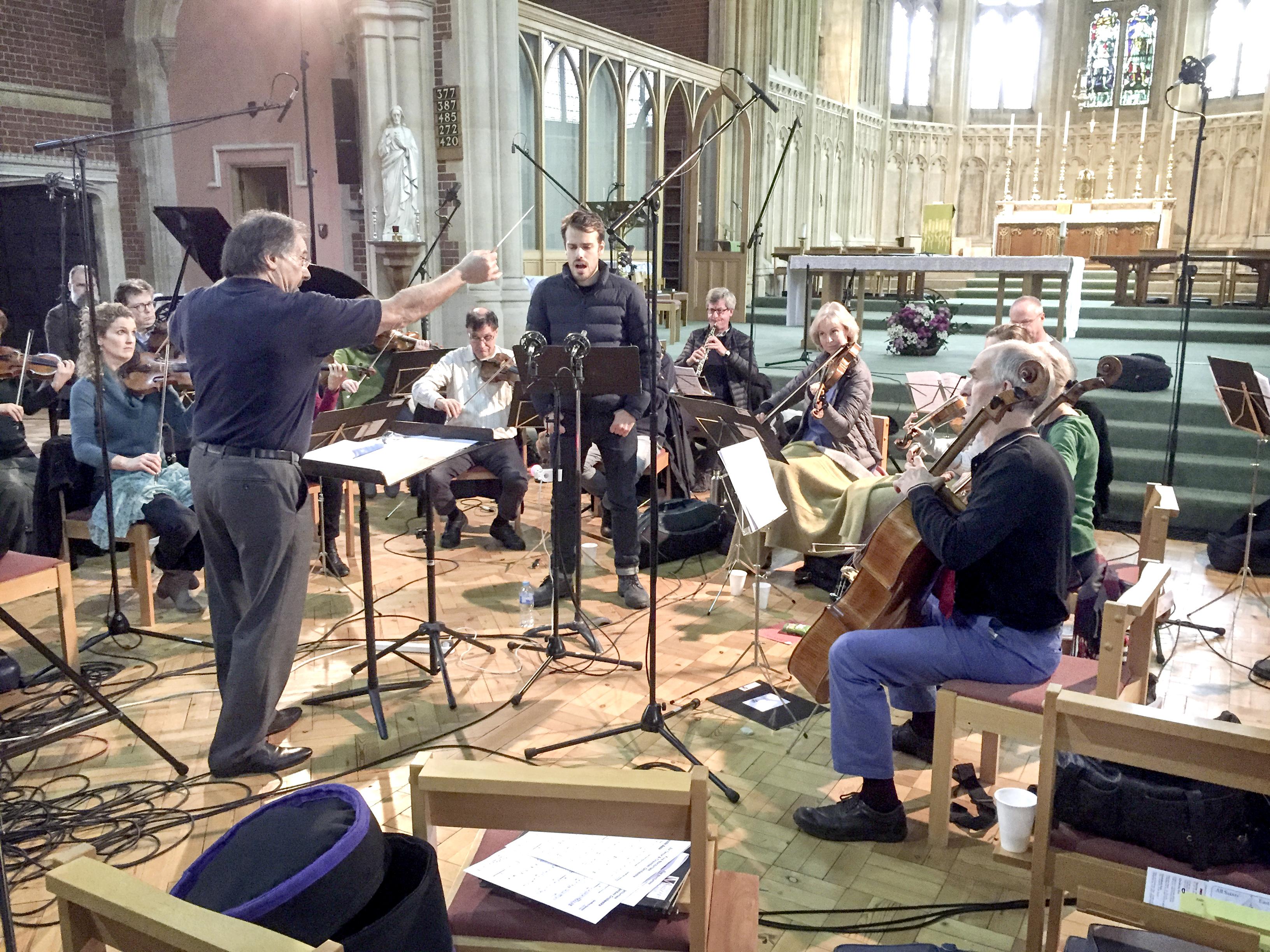 Geoffrey Hanson Odyssey recording