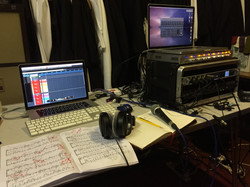 Priory Singers location recording