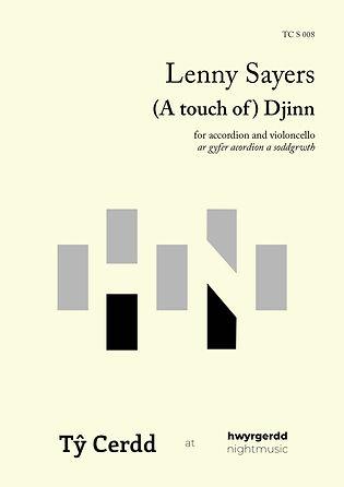 Lenny Sayers - A touch of Djinn
