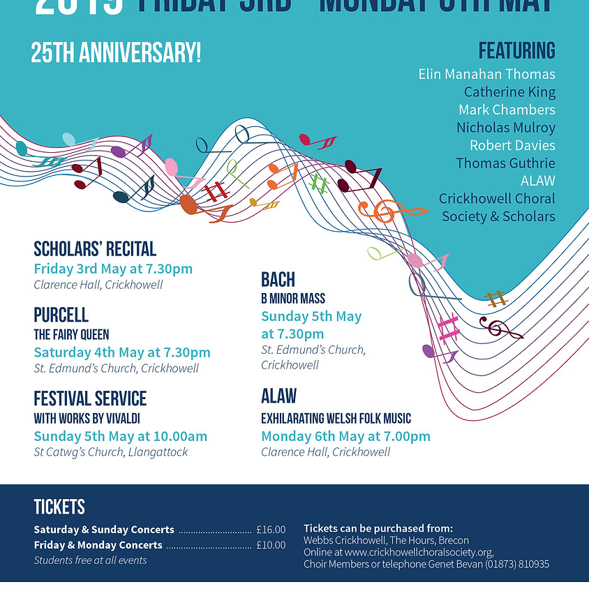 Crickhowell Music Festival 2019