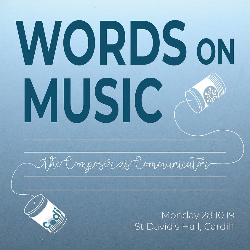 CoDI Interact: Words on Music