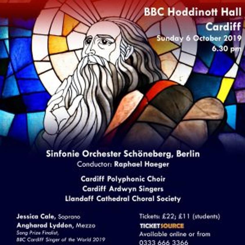 Cardiff Polyphonic Choir performs Mendelssohn's Elijah