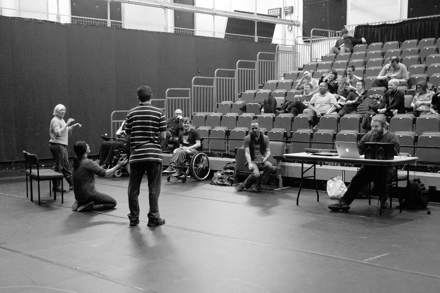 rehearsal weekend