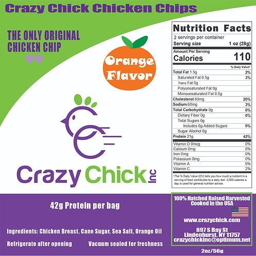 Orange Flavor Chicken Chips 2oz
