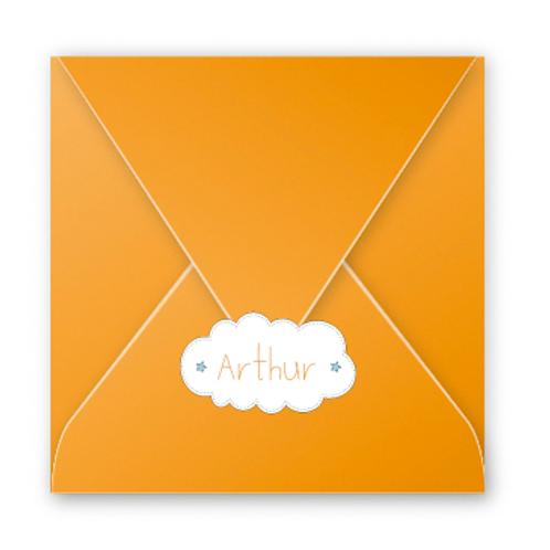 Stickers enveloppes nuage