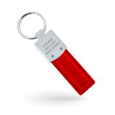 Porte-clé personnalisé en cuir