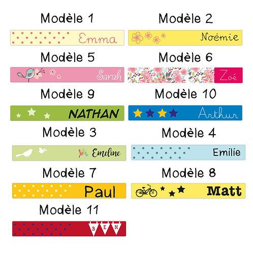 Etiquettes autocollantes rectangles
