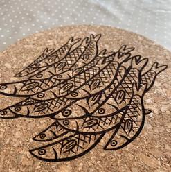 Dessous de plat poissons