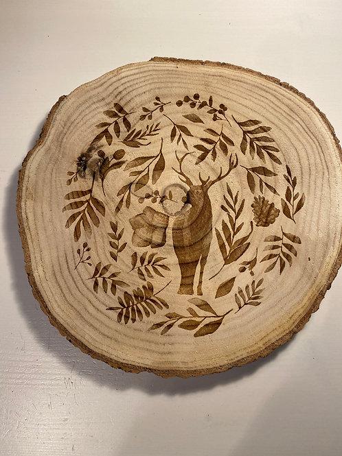 Dessous de plat bois