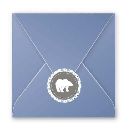 Stickers enveloppes motif 1