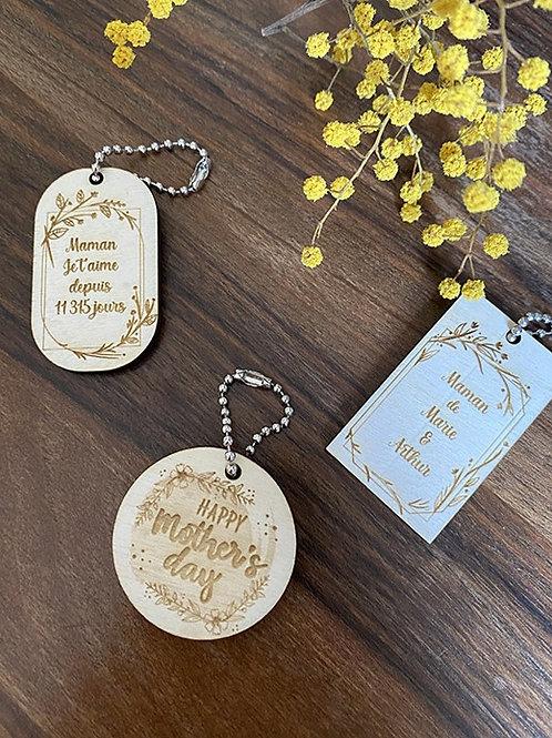 Porte-clés fête des mères