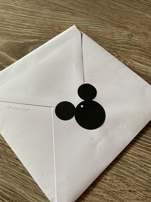 Etiquette Mickey