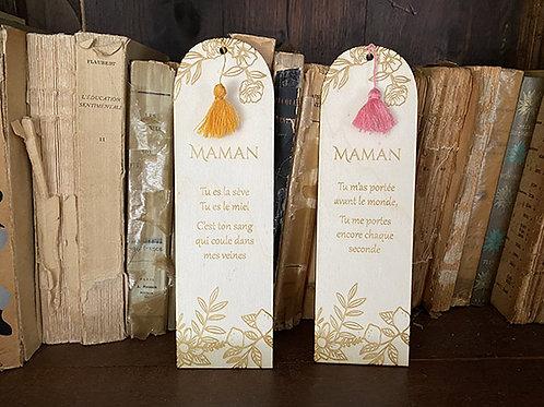 Marque-page Maman