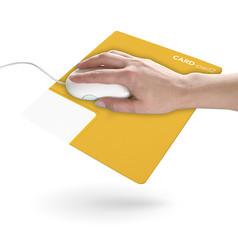 Tapis de souris personnalisé + carte de visite