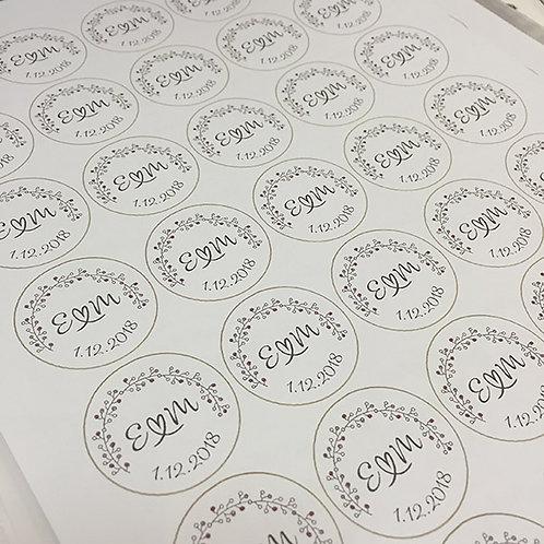 Stickers d'enveloppes x24