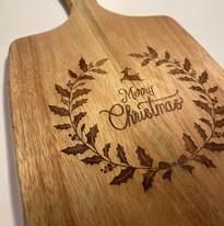 Planche à découper Merry Christmas