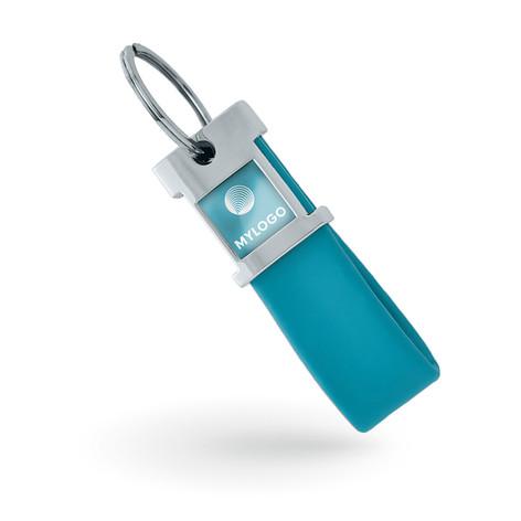 Porte-clé personnalisé en silicone
